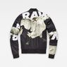 G-Star RAW® Rackam Sports Padded Bomber Black flat back