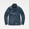 G-Star RAW® Rackam Utility Padded Overshirt Medium blue flat front