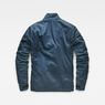 G-Star RAW® Rackam Utility Padded Overshirt Medium blue flat back