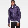 G-Star RAW® Strett Sport Padded Overshirt Purple model front