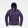 G-Star RAW® Strett Sport Padded Overshirt Purple flat front
