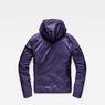 G-Star RAW® Strett Sport Padded Overshirt Purple flat back
