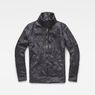 G-Star RAW® Rackam Utility Padded Overshirt Grey flat front