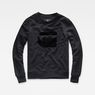 G-Star RAW® RC Ocelat Sweater Black flat front