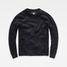 G-Star RAW® Dadin Knit Black flat front