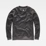 G-Star RAW® Core Hoc Sweater Grey flat front