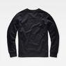 G-Star RAW® Monthon Sweater Black flat back