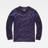 G-Star RAW® Core Zip Sweater Purple flat front