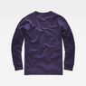 G-Star RAW® Core Zip Sweater Purple flat back