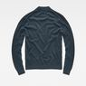 G-Star RAW® Core Mock Turtle Knit Mittelblau flat back