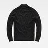 G-Star RAW® RC Core Mock Turtle Knit Black flat back