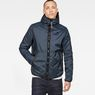 G-Star RAW® Strett Padded Overshirt Medium blue model front