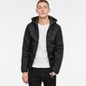 G-Star RAW® Strett Padded Overshirt Black model front