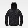 G-Star RAW® Strett Padded Overshirt Black flat front