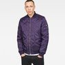G-Star RAW® Meefic Bomber Overshirt Purple model front