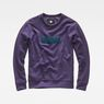 G-Star RAW® Hodin Sweater Purple flat front