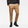 G-Star RAW® Bronson Slim Chino Brown model front