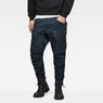 G-Star RAW® Rovic Zip 3D Tapered Pants Mittelblau model front