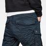 G-Star RAW® Rovic Zip 3D Tapered Pants Mittelblau model back zoom
