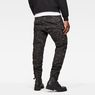 G-Star RAW® Rovic Zip 3D Tapered Pants Grey model back
