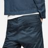 G-Star RAW® D-Staq Deconstructed Tapered Cuffed Chino Medium blue model back zoom