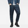 G-Star RAW® D-Staq Deconstructed Tapered Cuffed Chino Medium blue model front