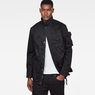 G-Star RAW® Ospak Auxilary Components Comp Field Jacket Black model front