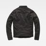 G-Star RAW® Deline Hybrid Archive Biker Jacket Black flat back
