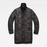 G-Star RAW® Deline Quilted Transeasonal Trench Black flat front