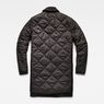 G-Star RAW® Deline Quilted Transeasonal Trench Black flat back