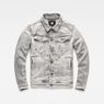 G-Star RAW® 3301 Deconstructed 3D Slim Jacket Grey flat front
