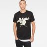 G-Star RAW® Thilea Regular T-Shirt Black model front