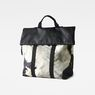 G-Star RAW® Estan Patterned Shopper Black front flat