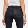 G-Star RAW® 5622 Mid Waist Skinny Jeans Black model back