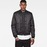 G-Star RAW® Rackam Quilted Transeasonal Bomber Black model front