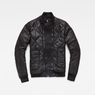 G-Star RAW® Rackam Quilted Transeasonal Bomber Black flat front