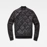 G-Star RAW® Rackam Quilted Transeasonal Bomber Black flat back