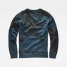 G-Star RAW® Core 3 Sweater Dark blue flat back