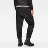 G-Star RAW® Bronson Pleated Cuffed Chino Black model back