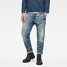 G-Star RAW® Raw Essentials D-Staq 3D Tapered Jeans Mittelblau