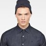 G-Star RAW® Cart Beanie Dunkelblau model