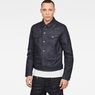 G-Star RAW® D-Staq 3D Deconstructed Jacket Dark blue model front
