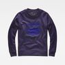 G-Star RAW® RC Ocelat Sweater Purple flat front