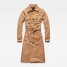 G-Star RAW® Aefon Trench Brown flat front