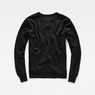 G-Star RAW® Riezr Sweater Black flat back