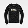 G-Star RAW® Riezr Sweater Black flat front