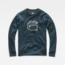 G-Star RAW® Monthon Sweater Medium blue flat front