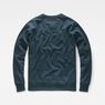 G-Star RAW® Monthon Sweater Medium blue flat back