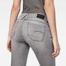 G-Star RAW® Lynn Lunar Mid-Waist Skinny Jeans Grey