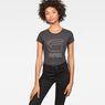 G-Star RAW® Cirst Slim T-Shirt Grey model front
